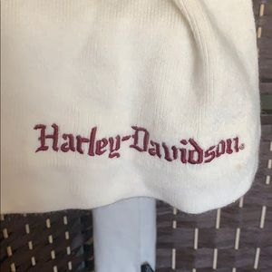 Harley davidson scarf - white